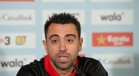 Xavi analizó el momento que atraviesa la Selección Española. EFE/Archivo