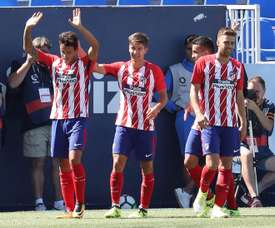 El filial del Atlético volvió a ganar. EFE