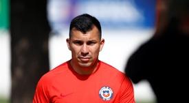Medel pidió no ir con Chile. EFE/Archivo