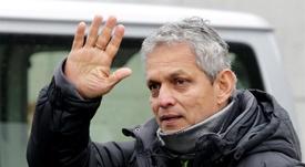 En la imagen un registro del entrenador colombiano de fútbol Reinaldo Rueda, quien fue presentado como nuevo director técnico del Flamengo de Brasil. EFE/Archivo