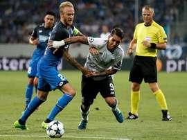 Assim foi esta terça-feira de futebol europeu. EFE/RONALD WITTEK