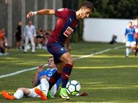 Unai Elgezabal volverá a jugar cedido en el Alcorcón. EFE/Archivo