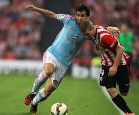 Álex López firmó recientemente con el Sporting. EFE