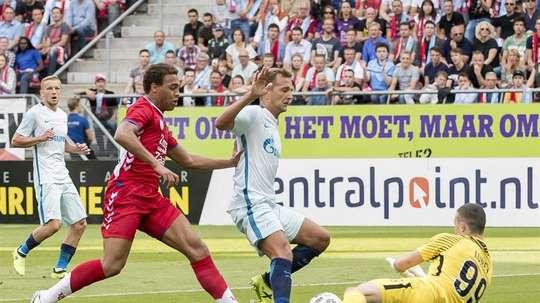 O Zenit bateu o Utrecht por 2-0. EFE/Joep Leenen