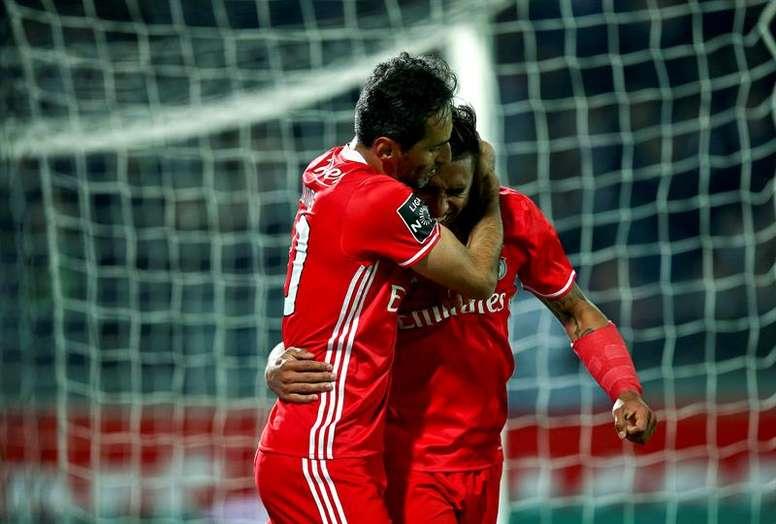 El Benfica recibe este sábado al Belenenses. EFE/Archivo