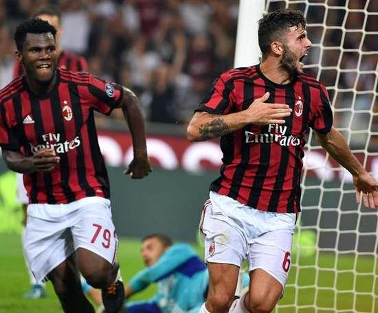 O Milan bateu o Rijeka por 3-2. EFE