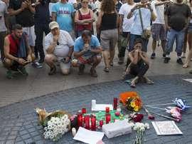 Uno de los asesinados en el atentado de Barcelona era un ex jugador del Vilafranca. EFE/Archivo