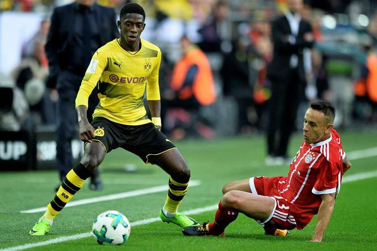 Matthaus says it would be a mistake for Bayern to sign Dembele. EFE