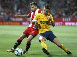 Atlético com muitas dificuldades em Girona. EFE
