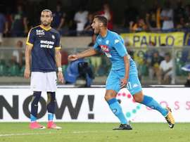 Ghoulam is wanted by both Manchester City and Liverpool. EFE/EPA