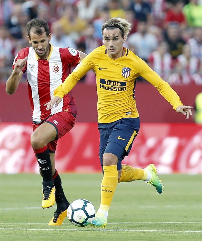 Atlético empata con Girona y ya no va por la Liga