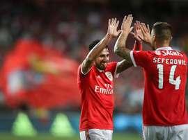 Benfica e Rangers irão defrontar-se pela Eusébio Cup. EFE/EPA