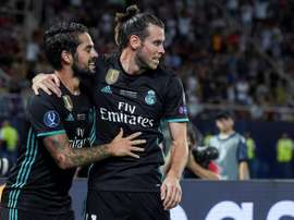 Gareth Bale silenced his doubters with a second-half goal. EFE/Archivo