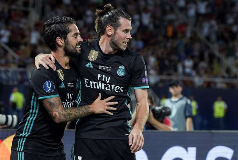 Image result for Isco, Gareth Bale and Mateo Kovacic