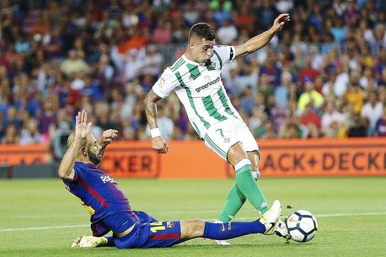Mascherano abandonará el Barcelona y pondrá rumbo a China. EFE