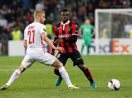 Le joueur de Nice, Seri, était pressenti pour rejoindre le Barça l'été dernier. EFE