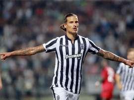 Prijovic est sous contrat avec le PAOk jusqu'en 2022. EFE