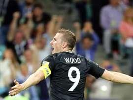 Chris Wood ya es jugador del Burnley. EFE/Archivo