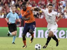 Sevilla drew 2-2 wish a spirited Istanbul Basaksehir side. EFE