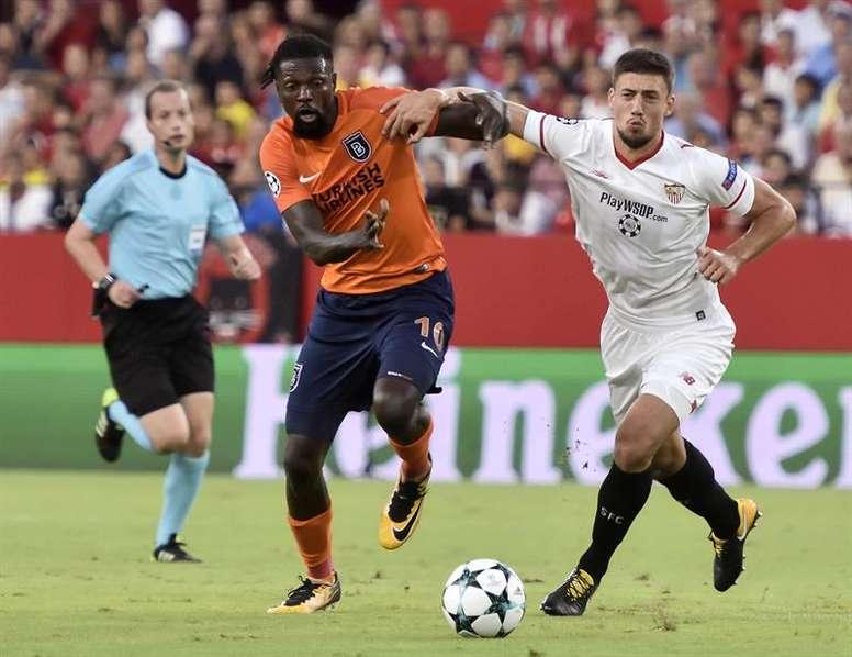 El Sevilla se metió en Champions tras empatar ante el Istanbul. EFE