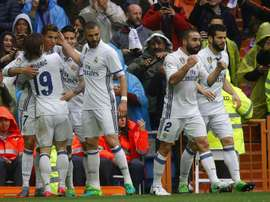 Real Madrid are top seed in group H. AFP