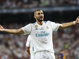 Benzema is not afraid of a little competition. EFE/Archivo
