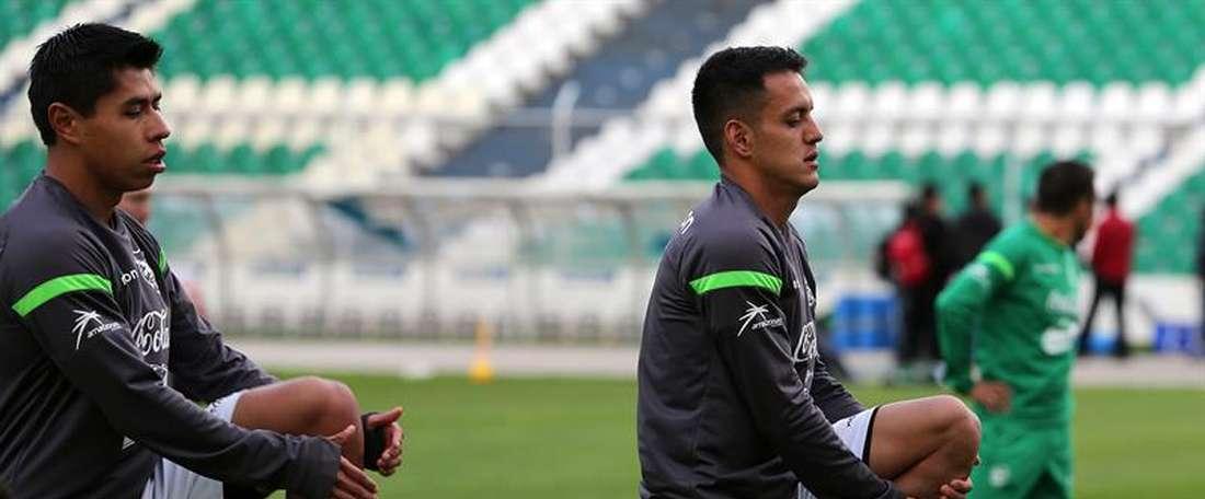 Llegan más jugadores a la Selección Boliviana. EFE