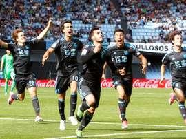 Real Sociedad goleia Villareal. EFE