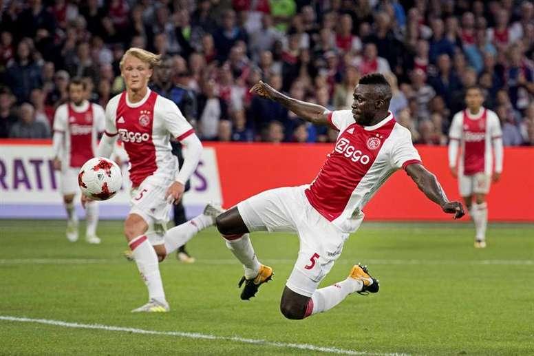 Frenkie De Jong, el joven talento del Ajax. EFE/Archivo