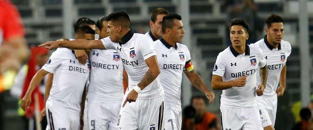 El conjunto chileno sufre una baja. EFE/Archivo