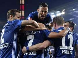 Hamburgo somou a segunda vitória consecutiva na Bundesliga. EFE