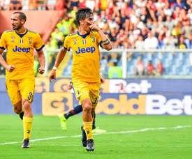 Dybala hat-trick silences Genoa. EFE
