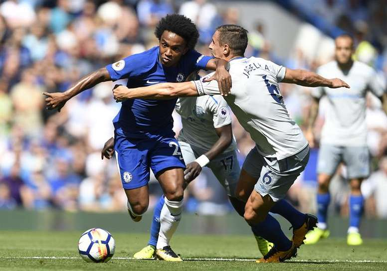 Chelsea y Everton se enfrentarán en octavos de la EFL Cup. EFE