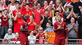 Sadio Mané a mis en avant  l'union de Liverpool. AFP