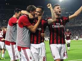 El Milán ha creado muchas expectativas con los nuevos fichajes para esta temporada. EFE/EPA