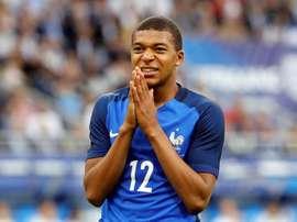 Mbappé respondió con contundencia. EFE/Archivo