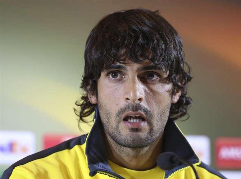 Barbosa prolongó su contrato con el 'submarino amarillo'. EFE/Archivo