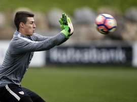 La Ponferradina reclamará su parte por la venta de Kepa al Chelsea. EFE