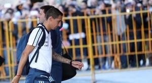 Di María abandona a seleção por lesão. EFE