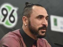 Hugo Almeida probará suerte en el fútbol croata. EFE/Archivo