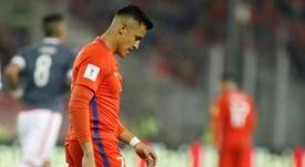 Alexis Sánchez, una de las grandes figuras que se podría perder el Mundial. EFE