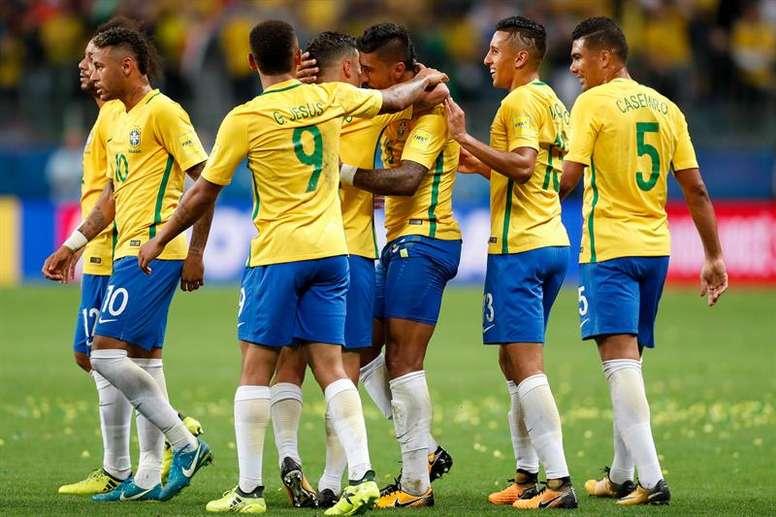 Brasil, una de las grandes favoritas. EFE