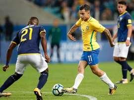 Coutinho est absent. EFE