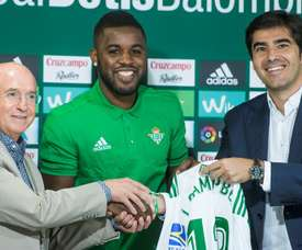 Campbell has returned to Real Betis on loan from Arsenal. EFE