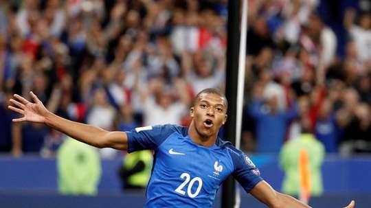 Mbappé, feliz por la designación de París para los JJOO del 2024. EFE