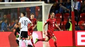 La República Checa ganó en Baku por la mínima. EFE/Archivo