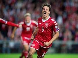 Le transfert du danois est imminent. EFE