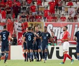 La Lituanie reçoit l'Angleterre à domicile pour un match prévu à 18h00. EFE