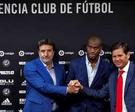 Valência comprou o jogador por 25 Milhões ao Inter. EFE