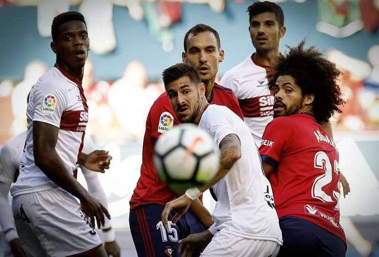 Osasuna cayó eliminado en la Copa. EFE